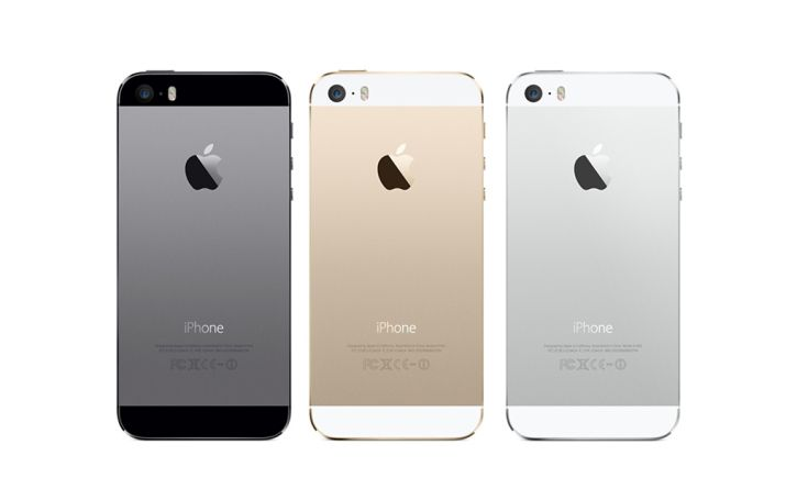 Apple iPhone 5S is offered in Silver, Space Gray and Gold shells