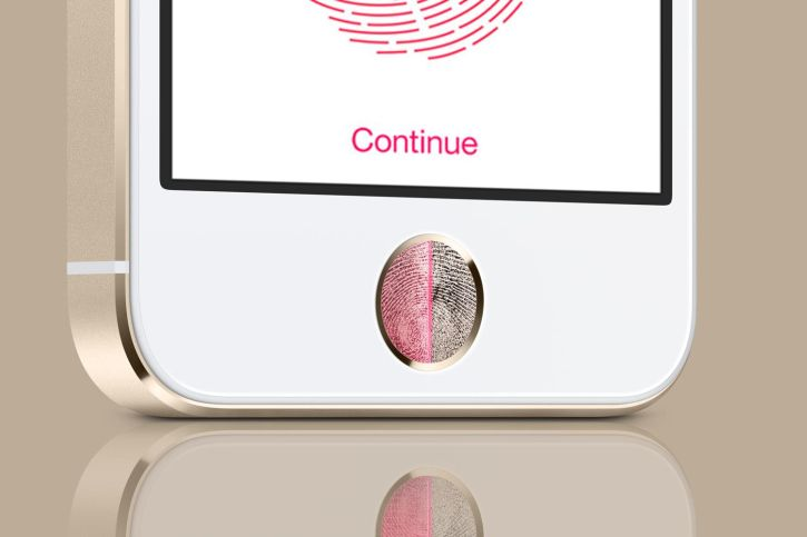 Apple iPhone 5S special feature the Touch ID