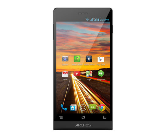 Archos 50c Oxygen introduced officially