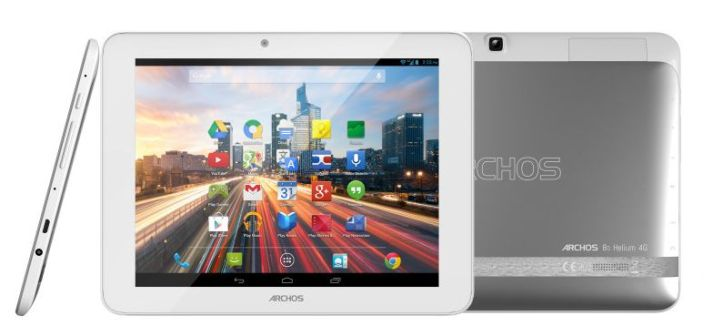 Archos 80 Helium 4G presented in the mobile world