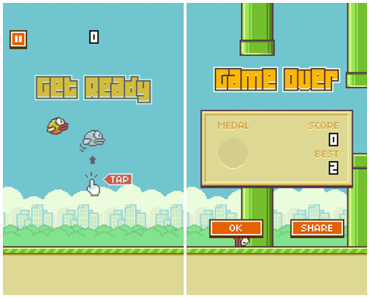 flappy bird android application