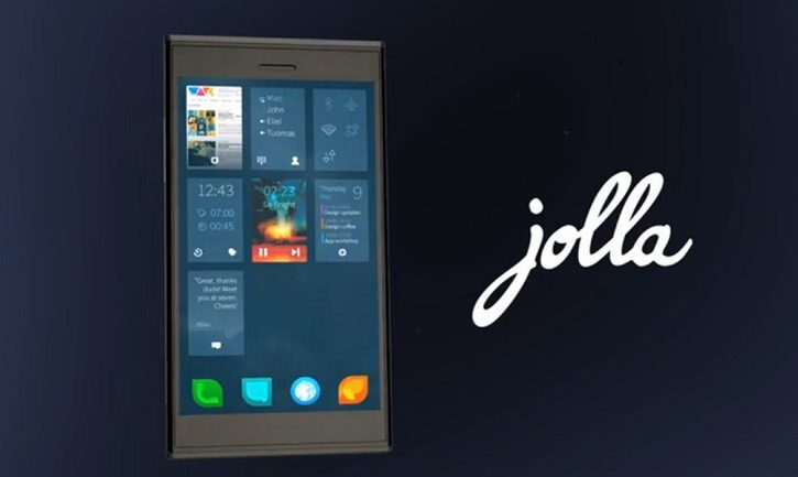 Jolla Phone running Sailfish OS