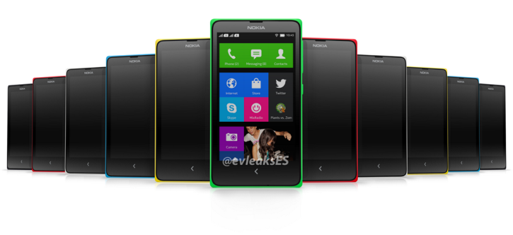 Nokia will present the Nokia X at MWC 2014