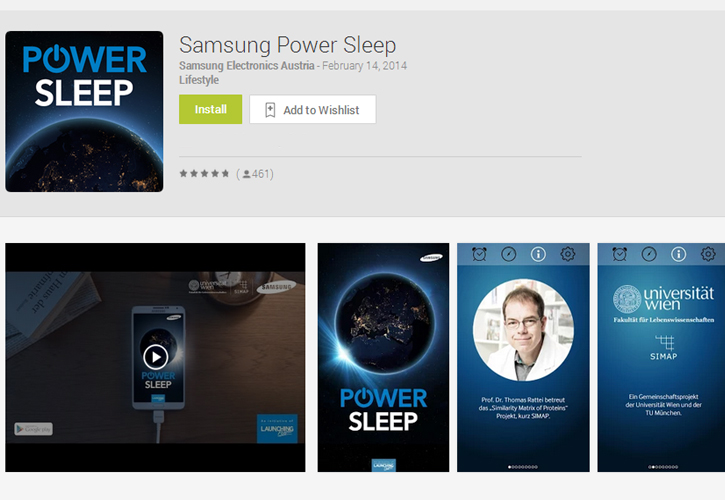 Power Sleep: an Alarm Clock that Donates CPU Cycles
