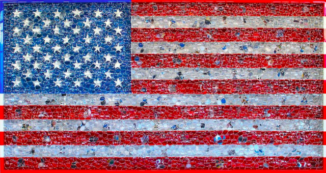 Smithsonian Google Glass -US flag