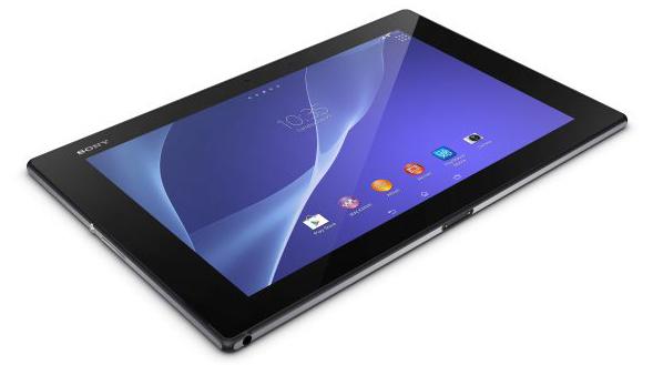 Sony presented the advanced slate Xperia Z2 Tablet