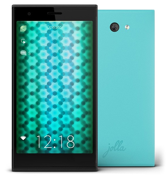 The Other Half back covers for Jolla Phone now available in black and green
