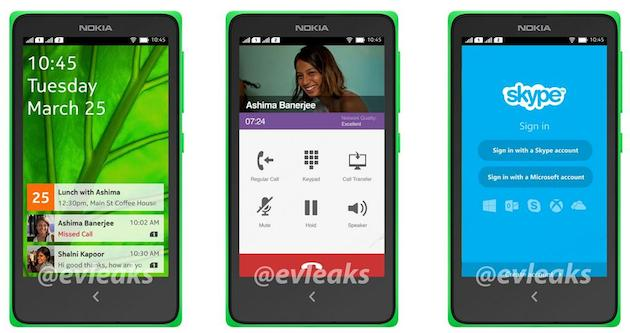 Upcoming Nokia with Android on board