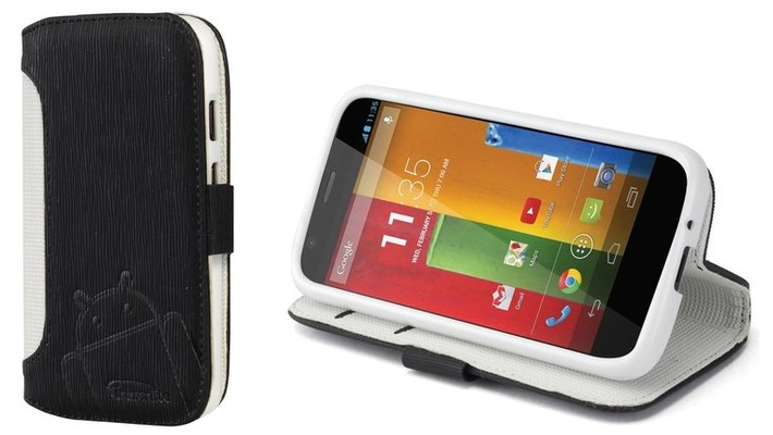 cruzerlite intelligent wallet case for moto g