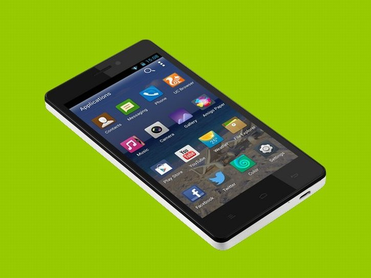 Gionee M2  front press render