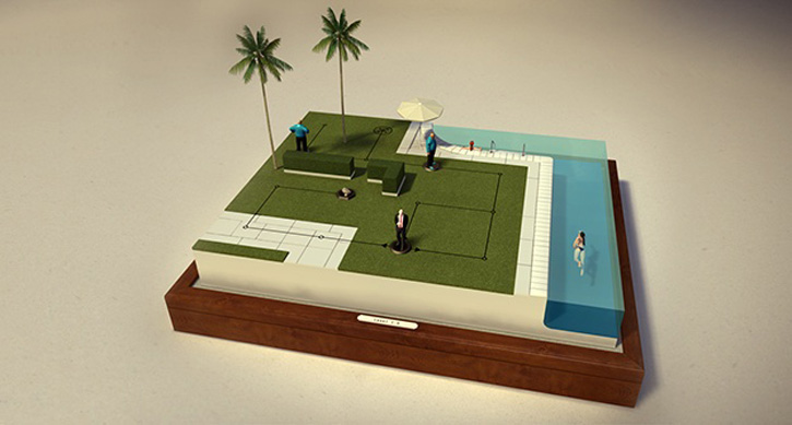 hitman go for mobile devices