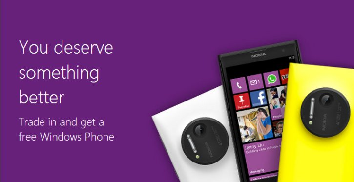 Microsoft trade in program for Windows Phone