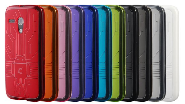 cruzerlite bugdroid circuit case for moto g
