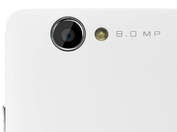rear side of Gionee M2 with the camera lens
