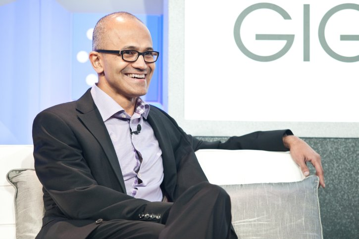 Satya Nadella is the new CEO of Microsoft, replacing Steve Ballmer