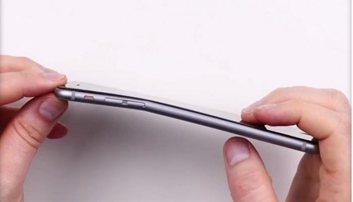 iPhone 6+ bend test
