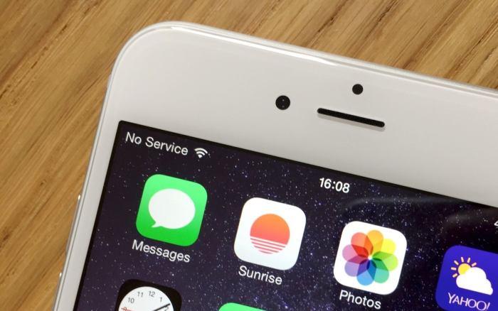 iOS 8.0.1 no service